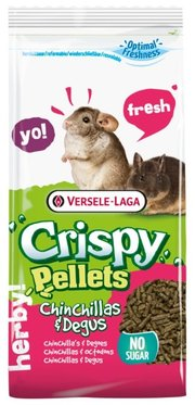 Versele-Laga Корм для шиншилл и дегу Crispy Pellets Chinchillas & Degus фото